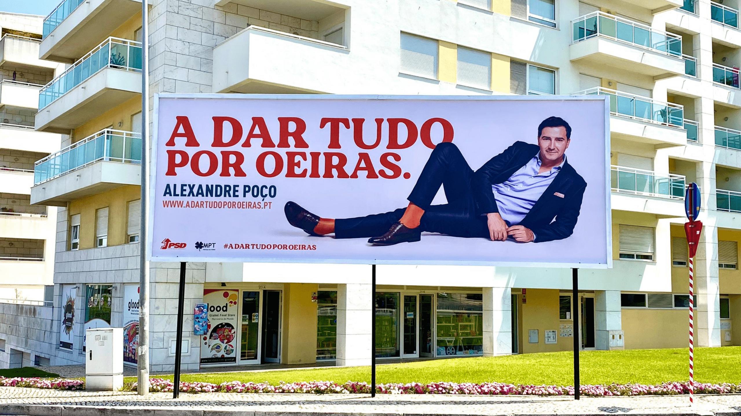 Cartaz Eleições Autárquicas 2021 - Alexandre Poço