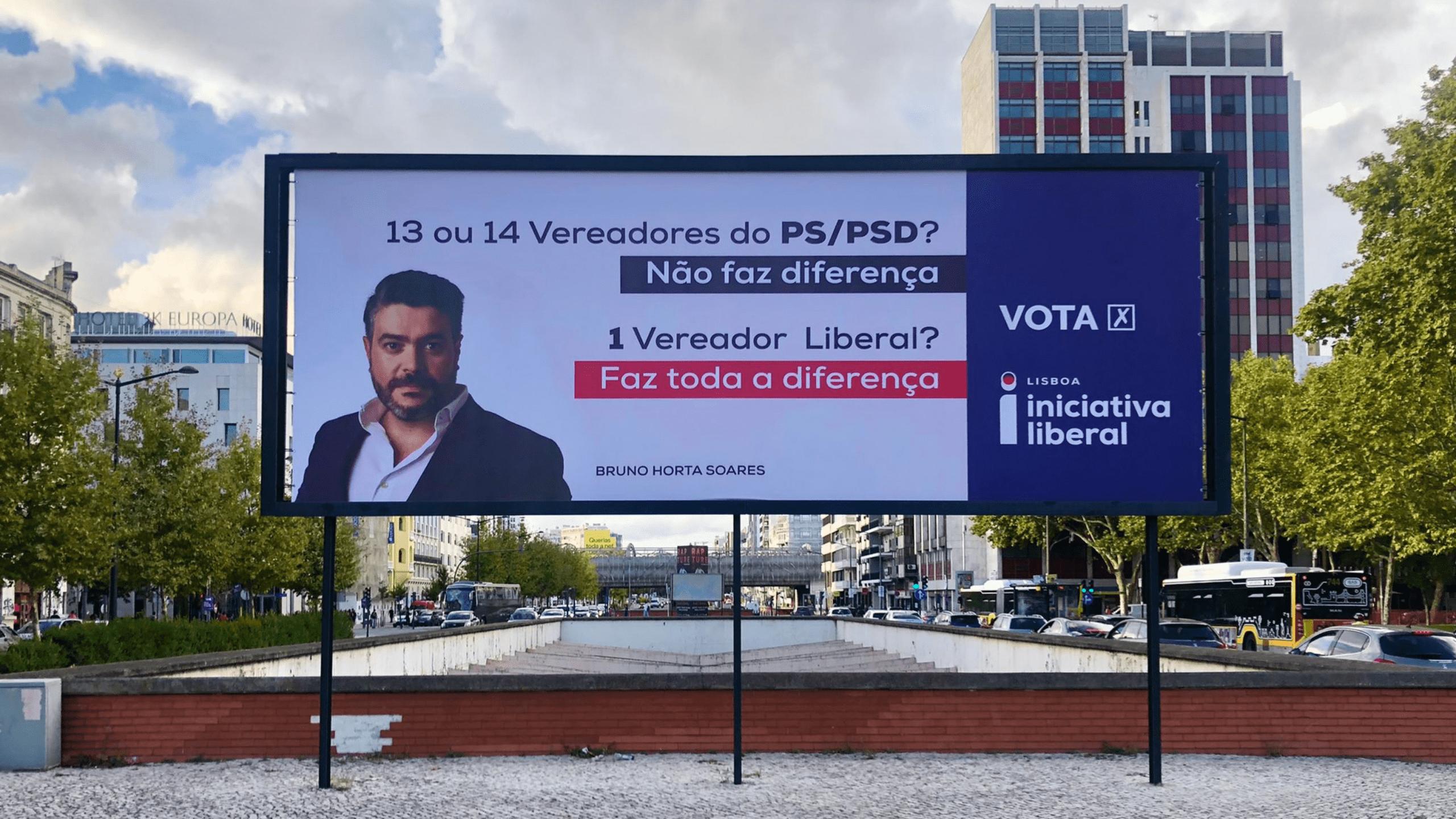 Cartaz Eleições Autárquicas 2021 - Bruno Horta Soares